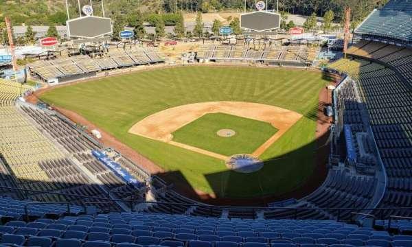 Dodger Stadium, vak: Press box