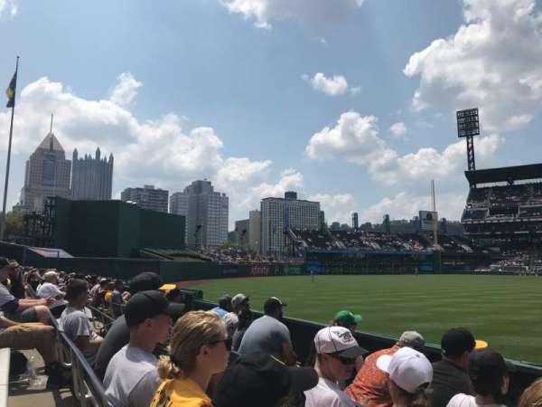 PNC Park, vak: 135, rij: D, stoel: 1