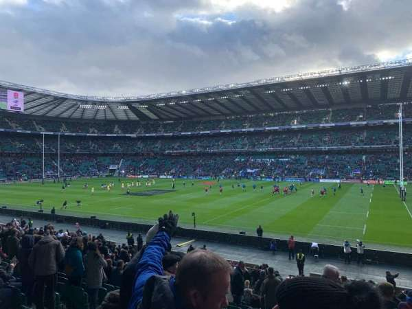 Twickenham Stadium, vak: L22, rij: 27, stoel: 108