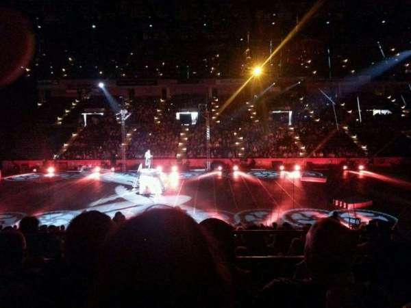 Royal Farms Arena, vak: 209, rij: C, stoel: 2
