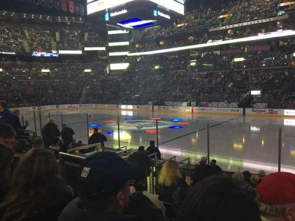 Nationwide Arena, vak: 113, rij: L, stoel: 6