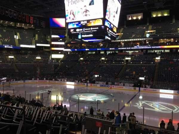Nationwide Arena, vak: 113, rij: U, stoel: 16