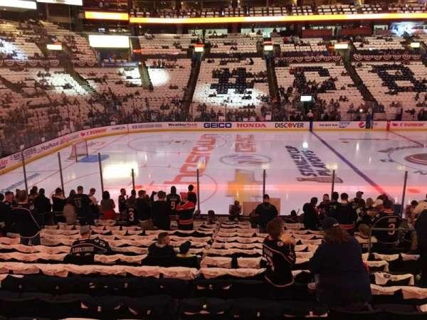 Nationwide Arena, vak: 116, rij: R, stoel: 8