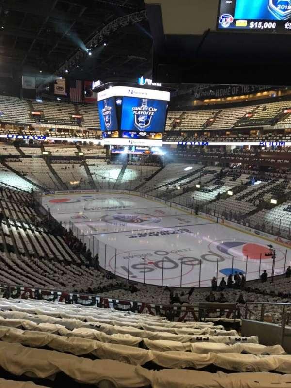 Nationwide Arena, vak: 122, rij: MM, stoel: 7