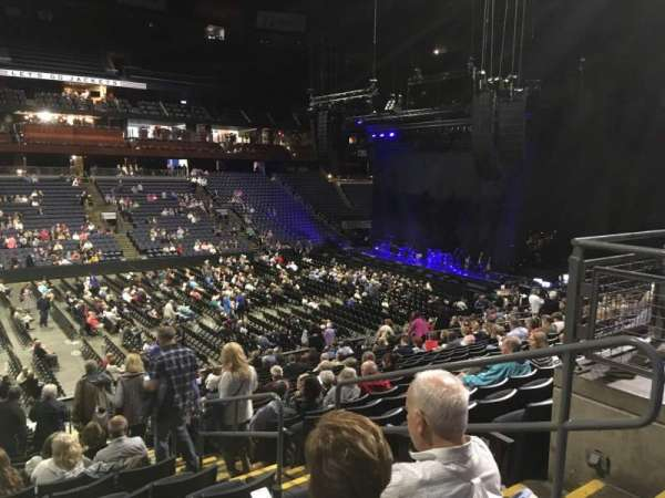 Nationwide Arena, vak: 105, rij: Y, stoel: 3