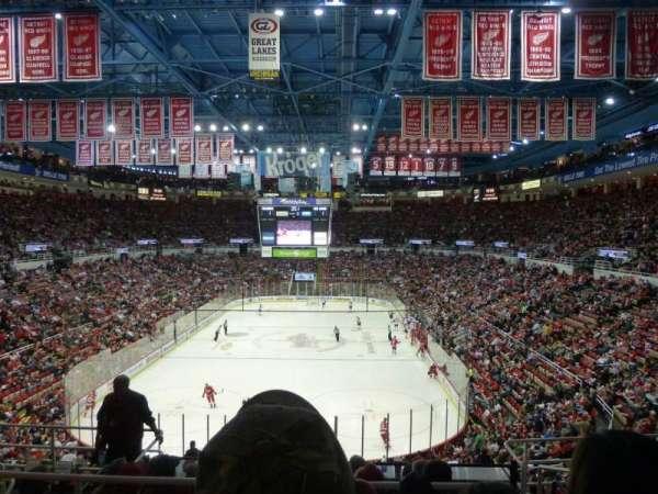 Joe Louis Arena, vak: 228, rij: 8, stoel: 7
