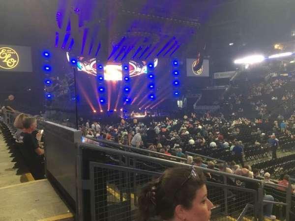 Nationwide Arena, vak: 113, rij: M, stoel: 15