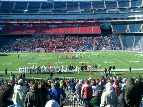 Gillette Stadium, vak: 114