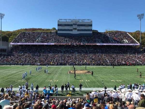 Michie Stadium, vak: 29, rij: X, stoel: 10