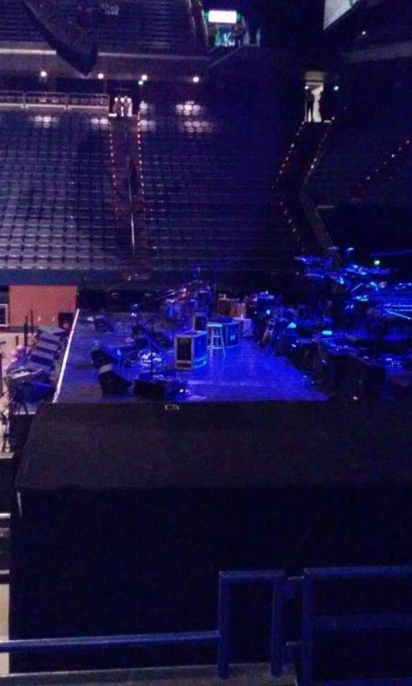 Rupp Arena, vak: 12, rij: D, stoel: 2
