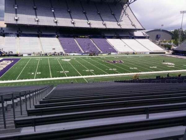 Husky Stadium, vak: 108, rij: 40, stoel: 25