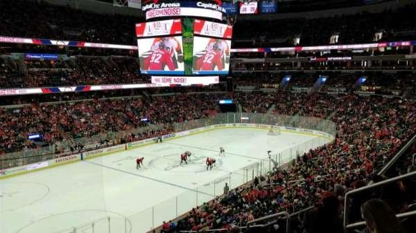 Capital One Arena, vak: 211, rij: F, stoel: 8