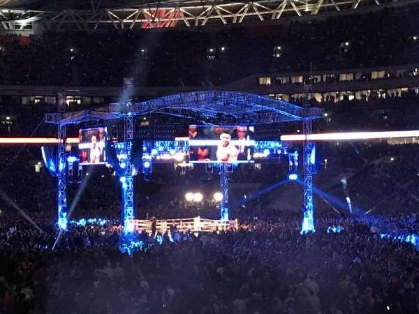 Wembley Stadium, vak: L115, rij: 24, stoel: 93