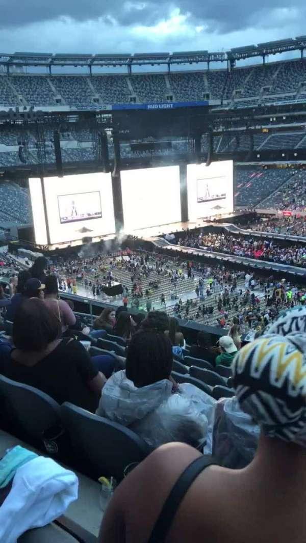 MetLife Stadium, vak: 236, rij: 7, stoel: 7