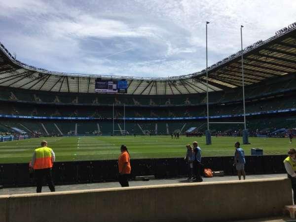 Twickenham Stadium, vak: L16, rij: 5, stoel: 175