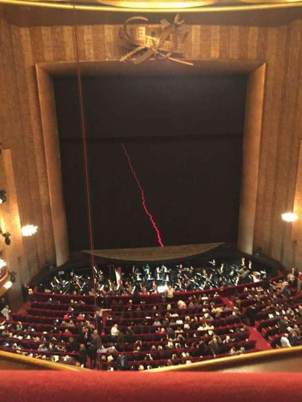 Metropolitan Opera House - Lincoln Center, vak: Balcony, rij: A, stoel: 111