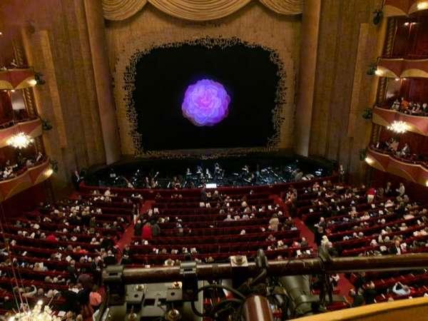 Metropolitan Opera House - Lincoln Center, vak: Dress Circle, rij: A, stoel: 101