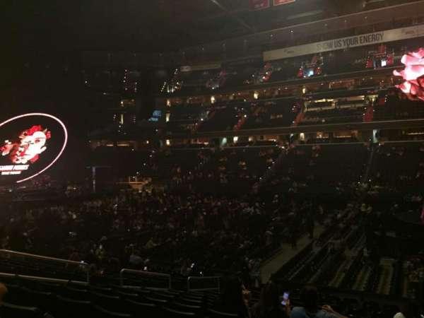 Capital One Arena, vak: 101, rij: P, stoel: 10