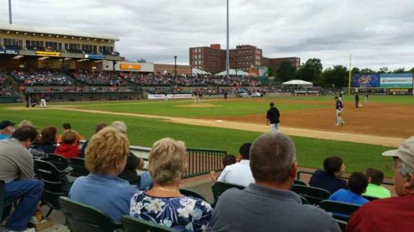 Bethpage Ballpark, vak: 112, rij: G, stoel: 17