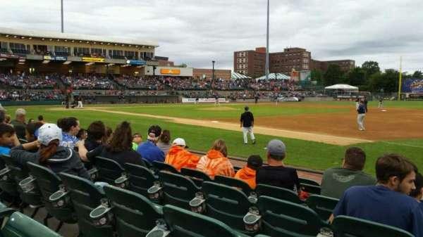 Bethpage Ballpark, vak: 112, rij: G, stoel: 8