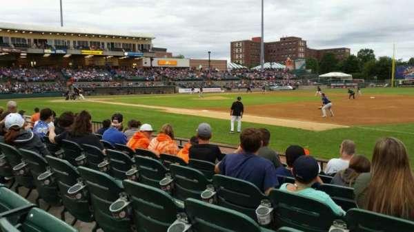 Bethpage Ballpark, vak: 112, rij: G, stoel: 6