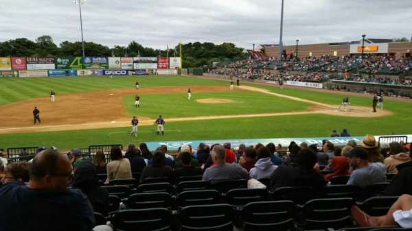 Bethpage Ballpark, vak: 207, rij: V, stoel: 16