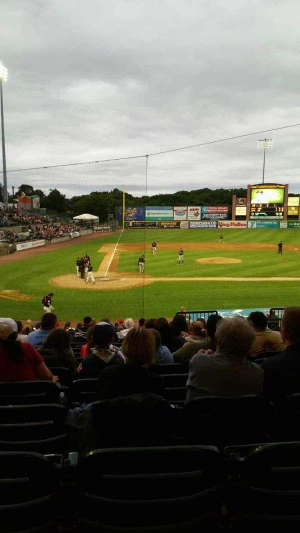 Bethpage Ballpark, vak: 204, rij: V, stoel: 8