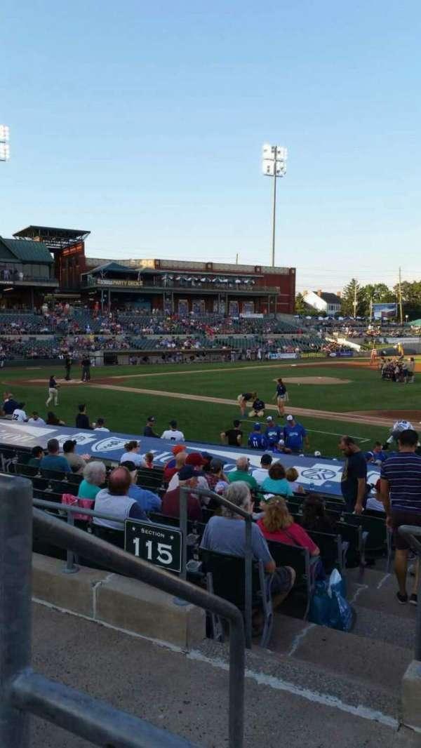 TD Bank Ballpark, vak: 215, rij: K, stoel: 17