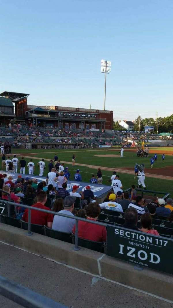 TD Bank Ballpark, vak: 215, rij: K, stoel: 11