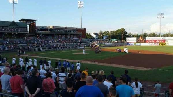 TD Bank Ballpark, vak: 215, rij: K, stoel: 6