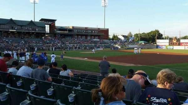 TD Bank Ballpark, vak: 119, rij: I, stoel: 1