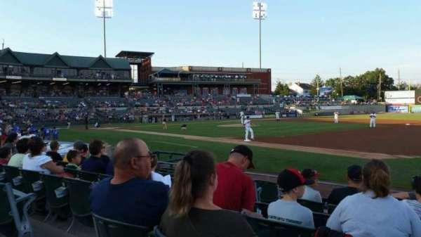 TD Bank Ballpark, vak: 119, rij: I, stoel: 7
