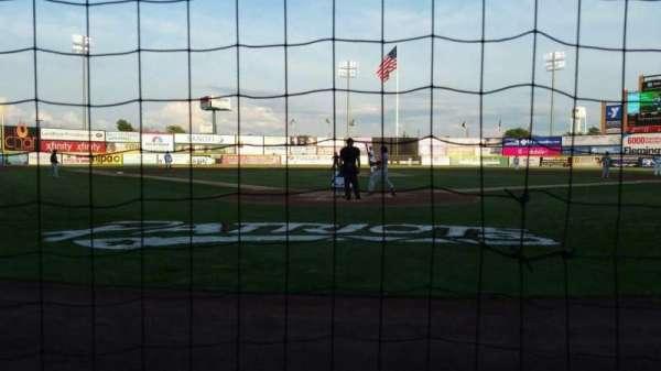 TD Bank Ballpark, vak: 101, rij: A, stoel: 6