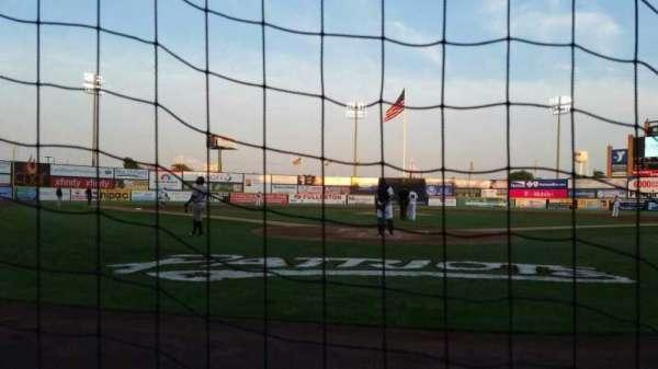 TD Bank Ballpark, vak: 101, rij: A, stoel: 8