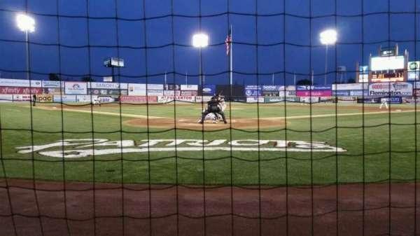 TD Bank Ballpark, vak: 101, rij: A, stoel: 7