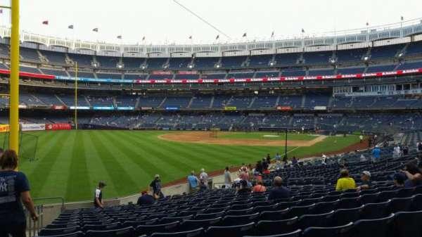 Yankee Stadium, vak: 131, rij: 19, stoel: 21