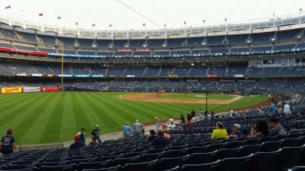 Yankee Stadium, vak: 131, rij: 19, stoel: 18