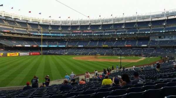 Yankee Stadium, vak: 131, rij: 19, stoel: 15