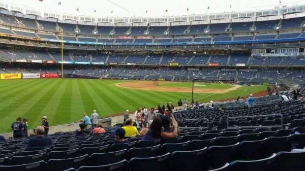 Yankee Stadium, vak: 131, rij: 19, stoel: 12