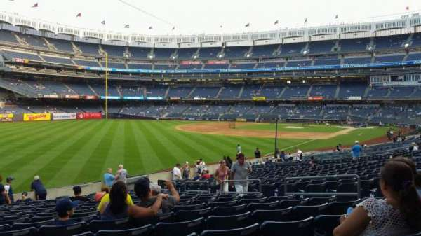 Yankee Stadium, vak: 131, rij: 19, stoel: 9