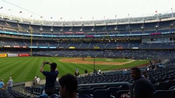 Yankee Stadium, vak: 131, rij: 19, stoel: 3