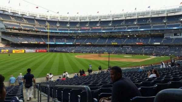 Yankee Stadium, vak: 131, rij: 19, stoel: 1