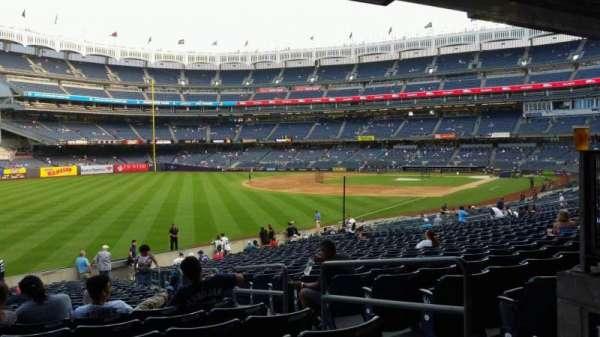 Yankee Stadium, vak: 131, rij: 23, stoel: 4