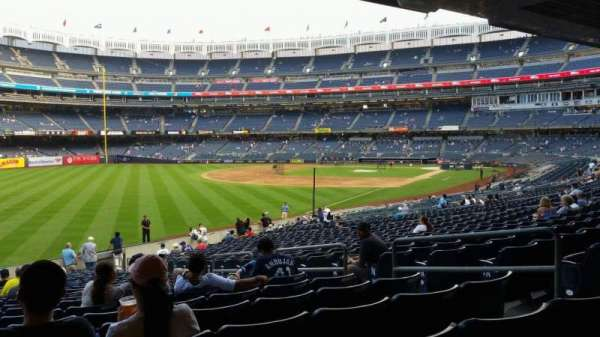 Yankee Stadium, vak: 131, rij: 23, stoel: 7