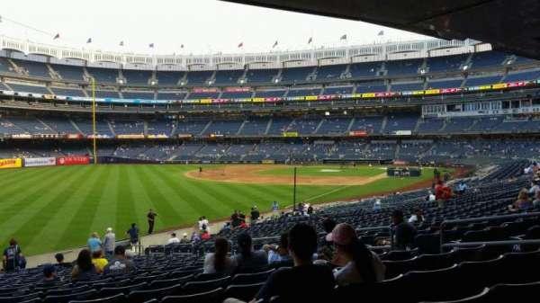 Yankee Stadium, vak: 131, rij: 23, stoel: 10