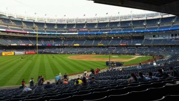 Yankee Stadium, vak: 131, rij: 23, stoel: 16