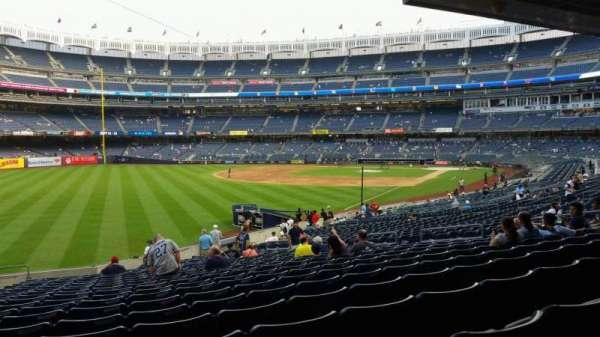 Yankee Stadium, vak: 131, rij: 23, stoel: 19
