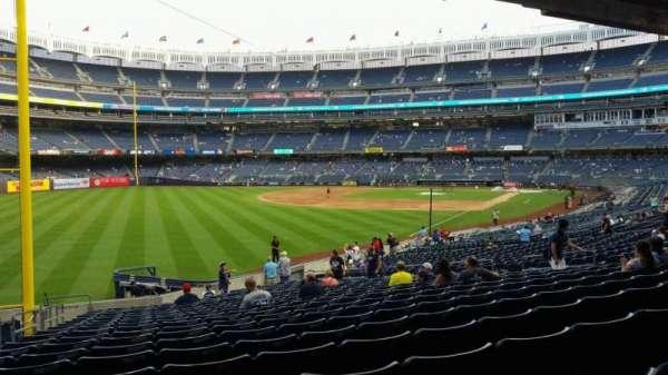 Yankee Stadium, vak: 131, rij: 23, stoel: 21