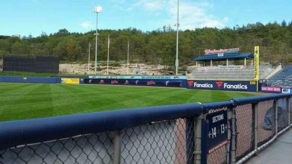 PNC Field, vak: 14, rij: 1, stoel: 5