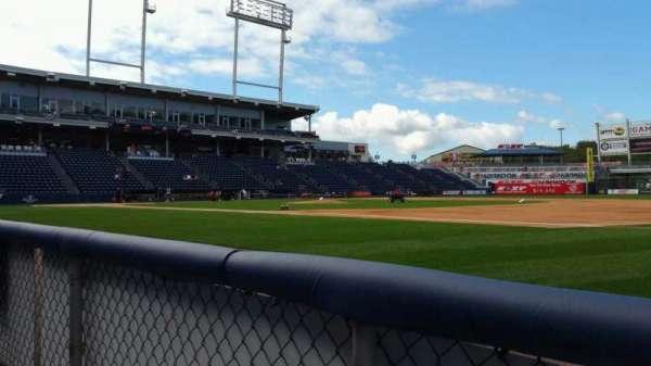 PNC Field, vak: 14, rij: 1, stoel: 10